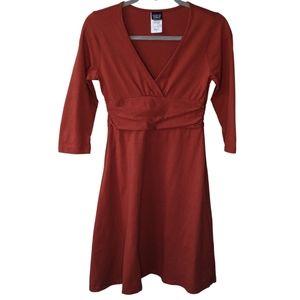 Patagonia Organic Cotton Knee-length Dress   sz Sm